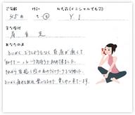 Y.Iさん 45歳 女性